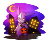 Pokemon-ARPG Trick or treat by Maonii