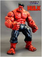Red Hulk version 2 Portrait by Lokoboys