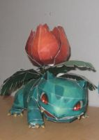 ivysaur papercraft by safaksimsek