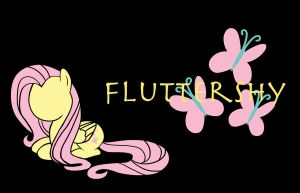 Fluttershy Background by Shadaily