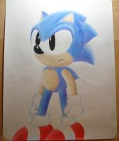 Sonic colored pencils 2 by namatamiku