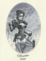 Catwoman 1887 by MichaelDooney
