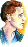 Tom Hiddleston by Gwoop