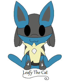 Chibi Lucario by LeafyTheCat