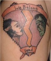 We Belong Dead Tattoo by LaurenWiles