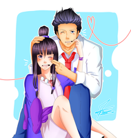 Ace Attorney - You and I by Minouze
