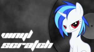 Vinyl Scratch Wallpaper by Meteor88