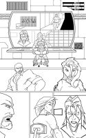 Frost Fire Issue 4 page 21 INX-GX by knytcrawlr