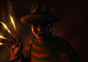 A nightmare on Elm Street by Brollonks