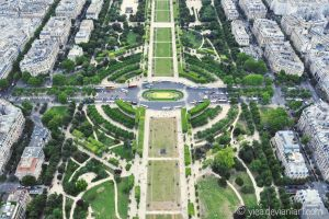 view from Eiffel Tower by yiea