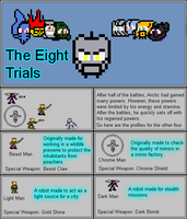 The Quick Conclusion of The 8 Trials by Color17