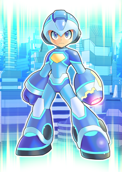 Commission: Megaman 2018 V1 by ultimatemaverickx