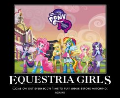 Equestria Girls by jswv