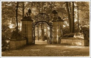 The gate by mjagiellicz