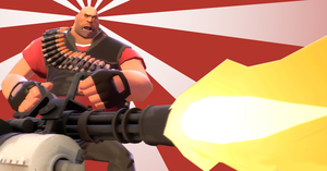 Team Fortress 2 - Heavy by zhegoggles