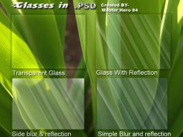 4 Diffrents Vista glasses by masterhero84