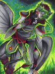Nirav: The Silent Sentry [closed Species Aiganor] by Fablekiss
