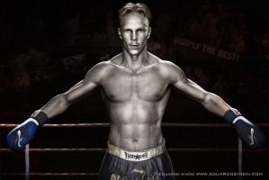 Dutch Muay Thai Fighter by edusimon