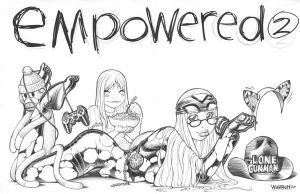 EMPOWERED 2's title spread by AdamWarren