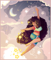 Dancing Through the Stars by katiepox