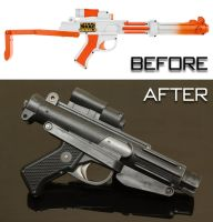 Customised Nerf Stormtrooper Blaster by SWAT-Strachan