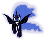Nightmare Moon by UP1TER