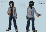 PC for PiwyLullaby : Italian Thai Engineer by Kayra-Wolfy