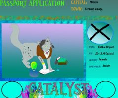 Catalyst application Kathie Bryant by ShadersHQ