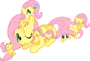 Fluttershys by Nameleslight