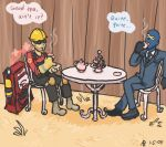Team Fortress 2 - Tea Party by mistress-samwise