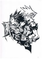 Final Fantasy VII Anniversary by RikkuFang