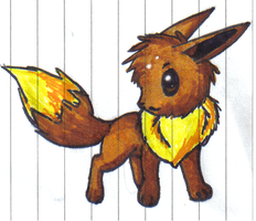 Eevee drawing by Filly-Milly