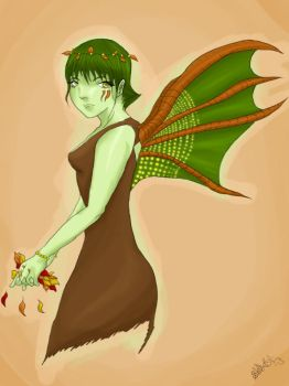 Autumn Fairy by Shebby2007