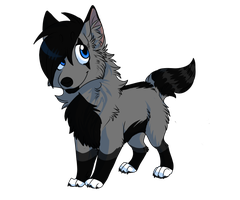 Shadow Chibi by Zilla-Hearted