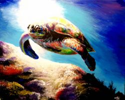 Sea Turtle by ArtbyjoelK