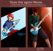 Draw This Again Meme: Trey by hamstertai