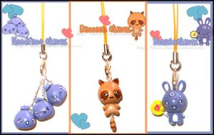 Charms Set by BiiZzU-chan