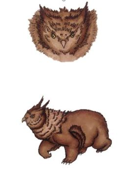 Ruffle the Owlbear by Furzepig