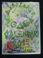 GAINING GABI - Calendar 2015 title page painted by DYKHAZER