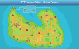 PSPokemon World Map by SunshineGuy