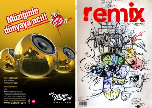 remixmusicmagazine by moscho