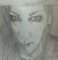 Chris Motionless by LauRAWR22