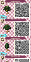 English uniform New Leaf QR code by sans-coeur97