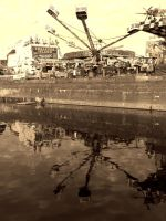 FUN TIME REFLECTIONS ( SEPIA ) by ANDYBURGESS