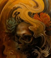 Skull oil by strangeris