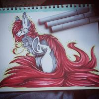 ::Red Beast:: by frantic-foxes