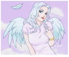 Angel by pungang