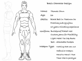My Basic Character Design by ThatSpark