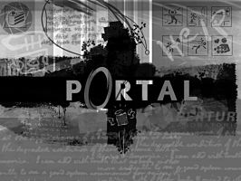 Portal Wallpaper by EtherealStardust