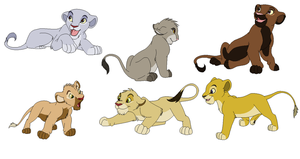 2 point lion adopts by gemms11
